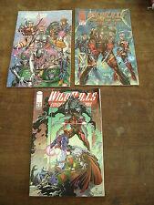 WILD C.A.T.S  Lot de 3 comics