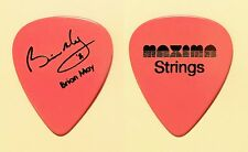 Vintage Queen Brian May Signature Maxima Strings Pink Guitar Pick
