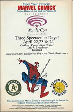 MARVEL TALES 285 OAKLAND A'S WARRIORS WONDERCON GIVEAWAY PROMO VARIANT SPIDERMAN
