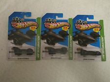 Mattel Hot Wheels HW Imagination Batman Live Batmobile #65/250 Black Lot of 3