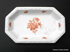 "MONTICELLO ORANGE by ROSENTHAL MARIA ~ 13"" OVAL SERVING PLATTER"