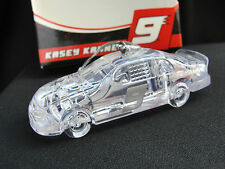 NASCAR Motor Sports Clear Plastic Crystal Kasey Kahne #9 Ornament New in Box