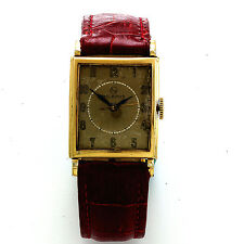 Vintage Yellow Gold-Filled Helbros Swiss Wrist Watch CA1960s