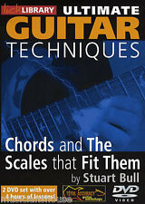 Chords and Scales That Fit Them Guitar LICK LIBRARY DVD