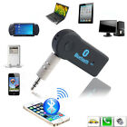 Bluetooth Wireless 3.5mm AUX Audio Car Stereo Music Receiver Adapter with Mic