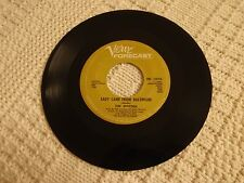 TIM HARDIN  LADY CAME FROM BALTIMORE/DON'T MAKE PROMISES VERVE FORCAST 3078 M-