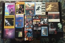 THE ULTIMATE BLADE RUNNER MAGAZINE AND BOOK COLLECTION MANY RARE ALL MINT