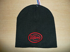 VILLIERS MOTORCYCLES EMBROIDERED BEANIE HAT-JAMES,GREEVES,FRANCIS BARNETT