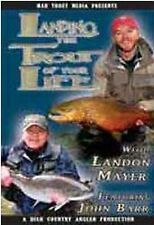 Landing the Trout of Your Life - Landon Mayer & John Barr Fly Fishing DVD Video