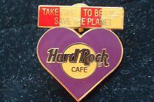 HRC Hard Rock Cafe Online Staff Purple Ambassador Heart XL Fotos