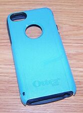 Genuine OtterBox Defender Series Blue Fitted Rubber Phone Case For iPhone 5 READ