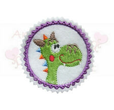 Dragón button aufbügler Patch perchas imagen Patch sticker Dragon Patch Dino