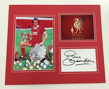 A 12 x 10 inch mounted display personally signed by Phil Thompson of  Liverpool.