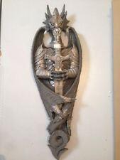 Drago con spada tagliacarte da appendere - dragon with letter opener  70 CM