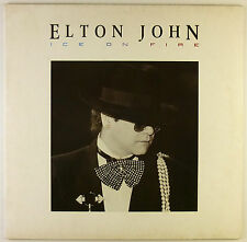 "12"" LP - Elton John - Ice On Fire - B2685 - washed & cleaned"