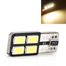 LED T10 W5W 4 SMD 5050 warmweiß 3500K Innenraum Beleuchtung Glassockel CANBUS