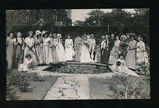 Somerset SHEPTON MALLET fancy dress group 1933 RPPC see message