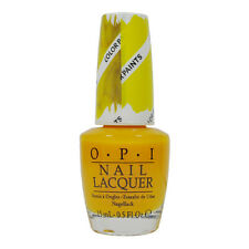 Opi Bendable Nail Polish Lacquer P20 Primarily Yellow 0.5oz 15ml