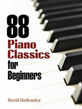 88 Piano Classics For Beginners Learn to Play EASY Keyboard Music Book Beginning