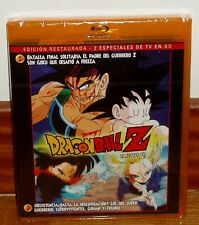 DRAGON BALL Z-2 ESPECIALES TV 1-2-BLU-RAY-NUEVO-PRECINTADO-ANIME-MANGA-SEALED