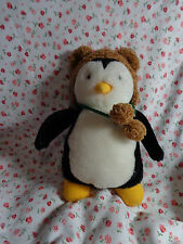 "HUGSY Plush Penguin 6"" Mervyn's Joey Friend from TV show FRIENDS Stuffed Animal"