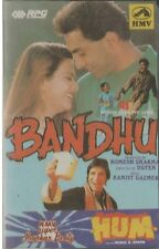 BANDHU & HUM -HMV SUPER JHANKAR BEATS -NEW BOLLYWOOD AUDIO CASSETTE-FREE UK POST