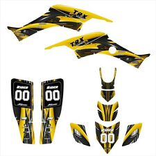 TRX400EX graphics 1999 - 2007 Honda 400EX deco kit #3333 YELLOW