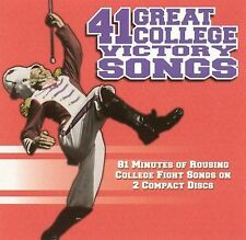 41 Great College Victory Songs University Of Michigan Band Audio CD