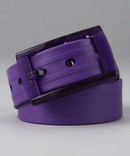 New Rubber Vinyl Plastic Jelly Silicone Suit Casual Belt Buckle Adjustable