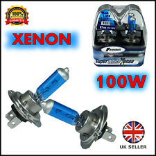 H7 XENON SUPER WHITE 100W 12V HID HEADLIGHT BULBS RENAULT MEGANE Coupe