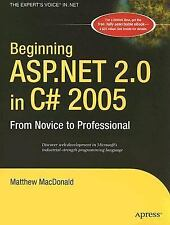 Beginning ASP.NET 2.0 in C# 2005: From Novice to Professional (Beginning: From N