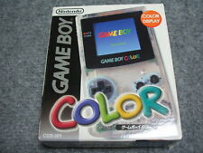 NEW Gameboy Color Clear Console System Japan *BOMB SALE - $90 OFF WOW!*