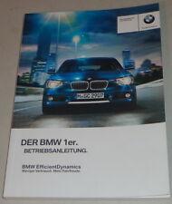 Betriebsanleitung BMW 1er F20 114d - M135ixDrive Stand 10/2012