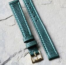 Torneau Genuine Lizard 12mm vintage watch band 1960s/70s NOS exotic skin strap