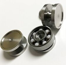 Fidget Spinner Bearing Buttons for 608 Bearings- Ceramic Hybrid Bearing Included