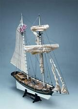 """Historic, Authentic Wooden Model Ship Kit by Mamoli: the """"Alert"""""""