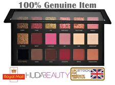 HUDA BEAUTY TEXTURED EYE SHADOWS PALETTE IN ROSE GOLD EDITION