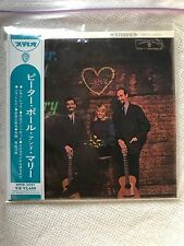 Peter Paul & Mary Rousing...& Real The Folk Singers Three SHM CD MINI LP Japan