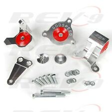RSX DC5 CIVIC SI EP3 K20 K24 K SERIES CNC ALUMINUM BILLET ENGINE MOTOR MOUNT KIT