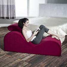 Liberator Esse Yoga Prop Chaise Lounge - Merlot