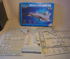 Modellbausatz Flugzeug MiG 31 Foxhound Plastik