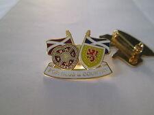a9 HEART OF MIDLOTHIAN FC club spilla football calcio soccer pin scozia scotland