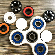 Newest Hand Spinner Tri Fidget Ceramic Ball Desk Focus Toy EDC For Kids/Adults