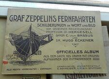 Hergesell, Hugo Eckener: Graf Zeppelins Fernfahrten Officielles Album 1908