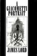Giacometti Portrait by James Lord (1980, Paperback, Revised)