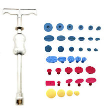 PDR Tools Dent Removal Slide Hammer Puller Tabs Set Paintless Hail Repair Kit