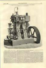 1890 Compound Electric Light Engines Robey Lincoln