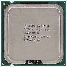Intel Cpu Core 2 Duo E8200 2.66Ghz Fsb1333Mhz 6M Lga775