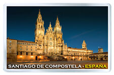SANTIAGO DE COMPOSTELA ESPAÑA FRIDGE MAGNET SOUVENIR IMAN NEVERA