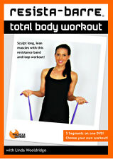 Resistance Band EXERCISE DVD - Barlates RESISTA-BARRE Total Body Workout!